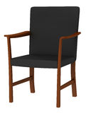 Modern wood chair Royalty Free Stock Image