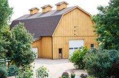 Modern Wood Plank Barn Royalty Free Stock Image