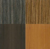 Modern wood textures Royalty Free Stock Images