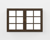 Modern Wood Window Stock Photos