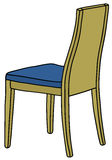 Modern wooden chair Stock Photo