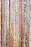 Modern wooden siding Royalty Free Stock Images