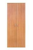 Modern wooden wardrobe Royalty Free Stock Photos