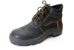 Modern working boot Stock Images