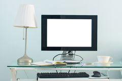 Modern working place Royalty Free Stock Photography