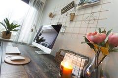 modern workspace arkivfoto