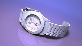 Modern wrist watch Stock Photography