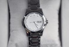 Modern wrist watch Royalty Free Stock Photography