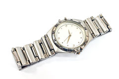Modern wrist watch Royalty Free Stock Photography
