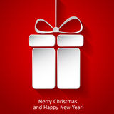 Modern Xmas greeting card Royalty Free Stock Photography