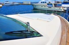 Modern yacht Stock Photography