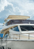 Modern yacht cabin Royalty Free Stock Images