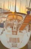Modern yacht Stock Photos