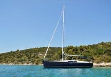 Modern yacht Royalty Free Stock Photography
