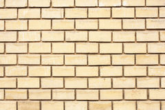 Modern yellow brick Stock Image