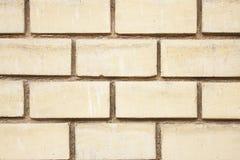 Modern yellow brick. Tessellation background texture Stock Photos