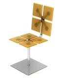 modern yellow för stol Royaltyfria Foton
