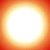 Modern yellow orange geometric background Stock Photography