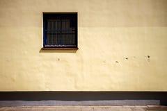 Modern yellow street wall Stock Photo