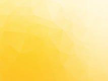 Modern yellow triangular background Royalty Free Stock Photo