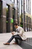 Modern young businessman Royalty Free Stock Photos