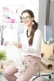 Modern young fashion designer Royalty Free Stock Image
