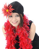 Modern Young Flapper Stock Images