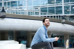 Modern young man Royalty Free Stock Photography