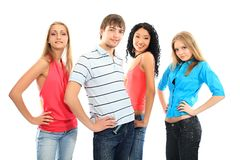 Modern youth Stock Images