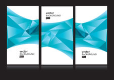 Modern zaken-kaart malplaatje Vector Illustratie