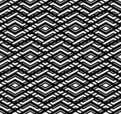 Modern zigzag contrast geometric seamless pattern. Rhombus graph Stock Photos