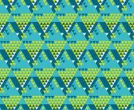 Modern zigzag naadloos vectorpatroon Stock Afbeelding