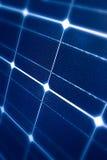 Modern zonnepaneel Royalty-vrije Stock Foto's