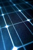 Modern zonnepaneel Royalty-vrije Stock Foto