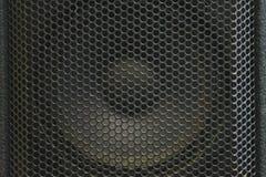Moderna akustiska system Metallgaller på den solida dynamiken Royaltyfria Foton