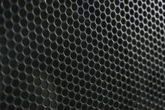 Moderna akustiska system Metallgaller på den solida dynamiken Royaltyfri Fotografi