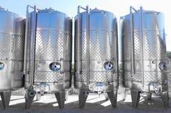 Moderna aluminum trummor Royaltyfri Fotografi