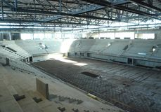 moderna arenakonstruktioner Royaltyfria Bilder