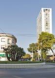 Moderna arkitekturbyggnader i Rimini, Italien Fotografering för Bildbyråer