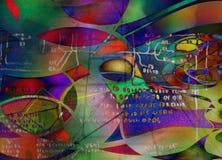 Moderna Art Abstract Fotografering för Bildbyråer