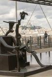 Moderna Art Pompidou Royaltyfria Foton