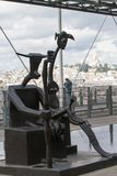 Moderna Art Pompidou Arkivfoto