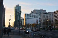 Moderna Berlin City Centre Royaltyfri Fotografi
