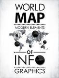 Moderna beståndsdelar av informationsdiagram Arkivfoton