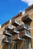 Moderna bostads- kvarter i Southwark, London Royaltyfri Foto