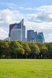 Moderna byggnader av hålan Hague Fotografering för Bildbyråer
