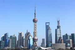 Shanghai Kina. Arkivfoto