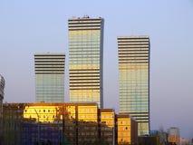 Moderna byggnader i Astana Fotografering för Bildbyråer