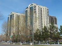 Moderna byggnader i Astana Royaltyfria Foton