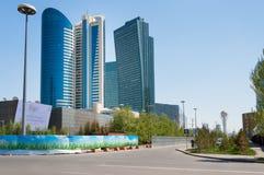 Moderna byggnader i Astana Kazakhsatan Royaltyfri Fotografi